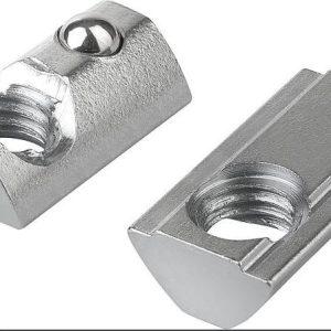 T-Nut, Fjederbelastet. M5 13.6 X 8 / 6.3 X T-Nut, Fjederbelastet. M5 13.6 X 8 / 6.3 X 5 / 4.3 MM.