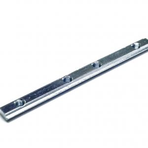 T-møtrik - Butt-stil lineær stik (4 huller)M5