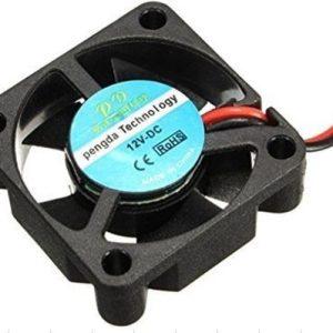Køling. 40X40X10 MM. 12V DC Brushless cooling fan