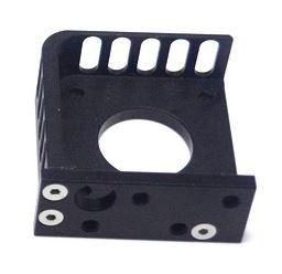 NEMA-17, Motor monteringsplade, aluminium. sort.