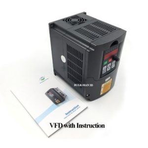 220V 1.5KW Single Phase input 3 Phase Output Frequency Converter / VFD