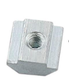 T-Nut, Sliding, Stål. M5 9.63 X 6 / 9.5 X 4.25 MM. til V-Spor.